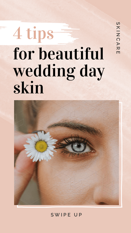 4 Tips For a Beautiful Wedding Day Template
