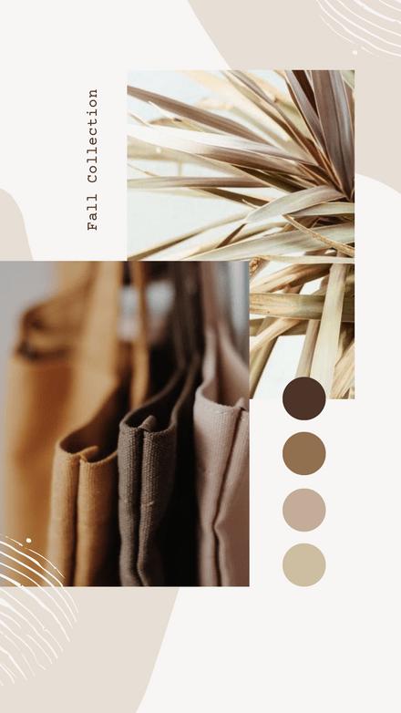 Neutral Tones Images with Color Palette