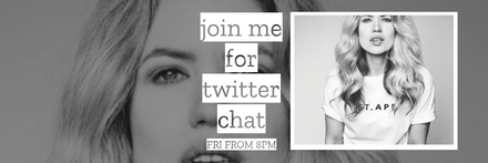 Join me for Twitter Chat Template