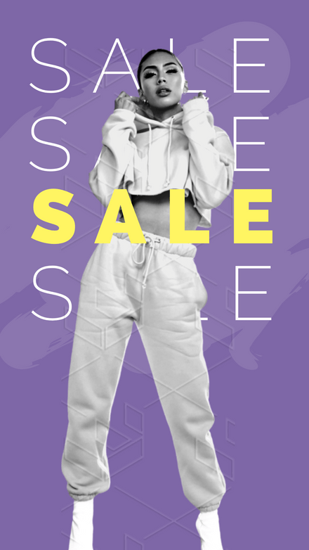 Layered Fashion Sale Template