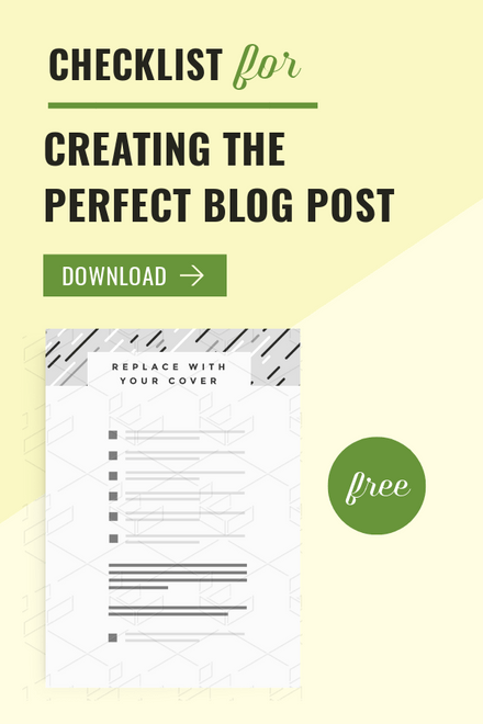 Checklist for Creating the Perfect blog post header