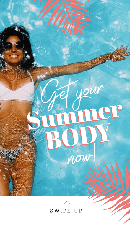 Get your Summer Body Now Graphic Template