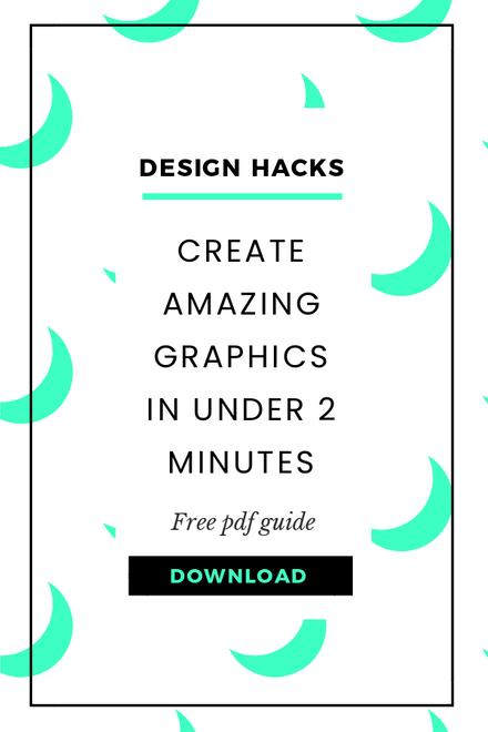 Green and White Design Hacks Blog Header Template