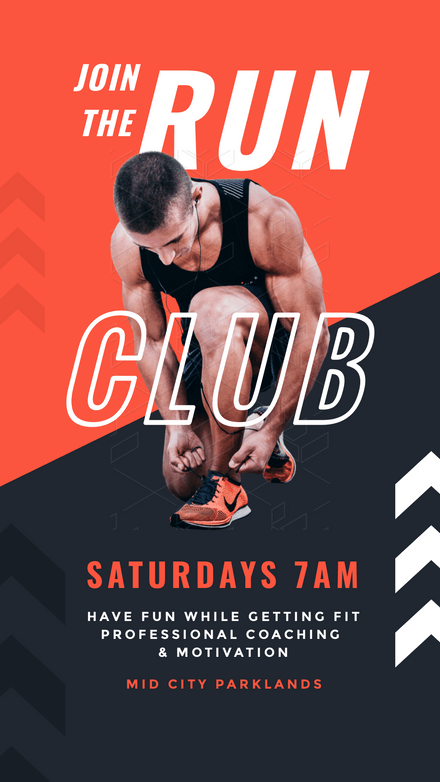 Join the Run Club - Fitness / PT Trainer Template