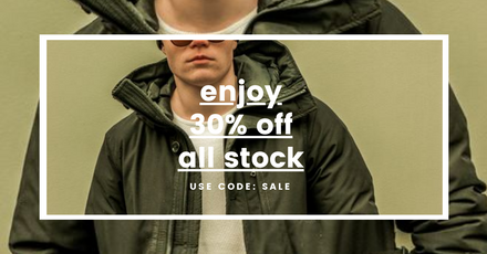 Retail Sale Template with Dual Image Zones