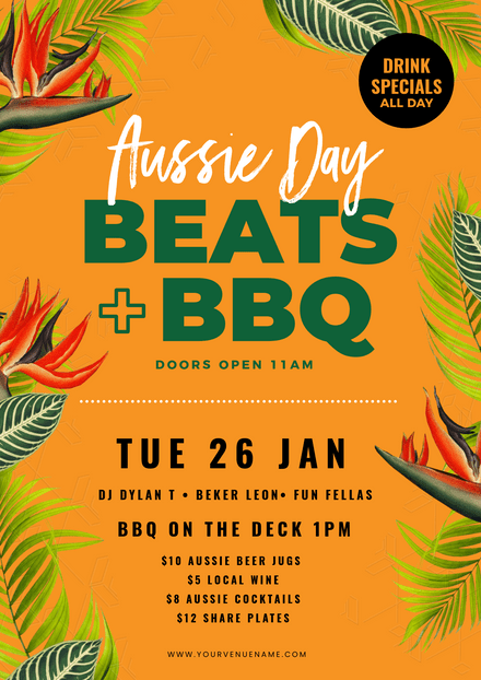 Australia Day Beats BBQ