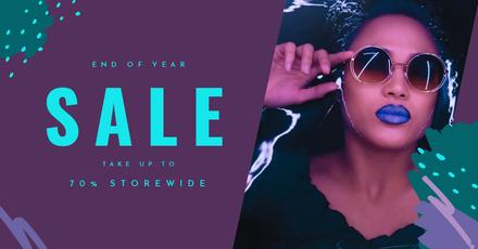 Neon Sale Retail Template