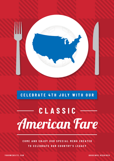 Classic American Fare 4th of July