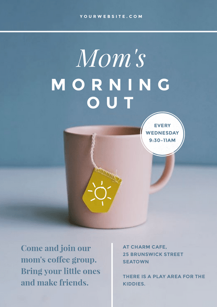 Mom's Morning Out Template
