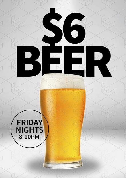 $6 Beers