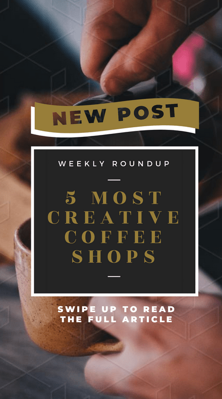 5 Most Creative Coffee Shops Template