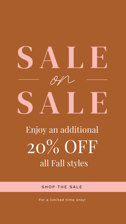 Sale on Sale Fall Retail Graphic Template