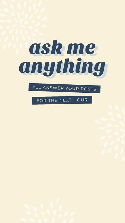 Ask me Anything - Instagram Story Template