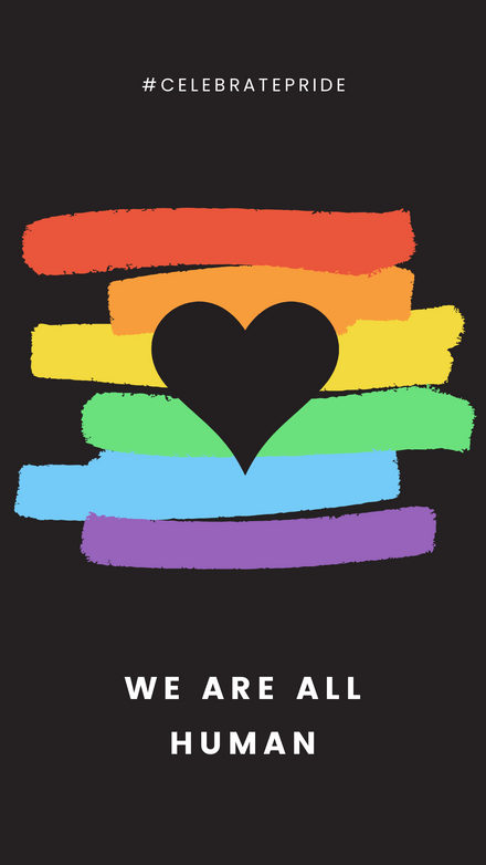 We Are All Human Celebrate Pride
