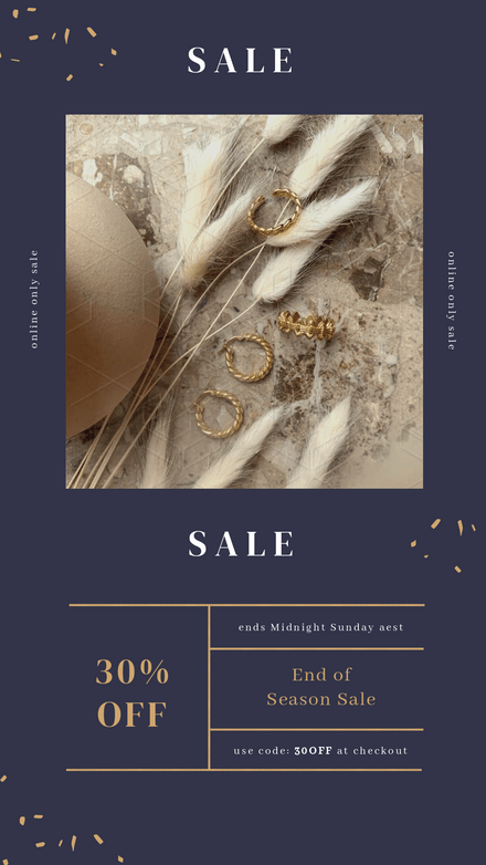 Single Image with Grid : Sale