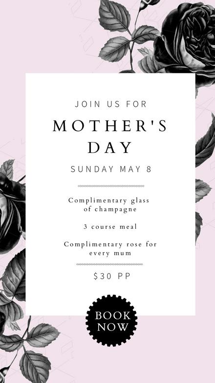 Mother's Day Vintage Floral & Pastel Template