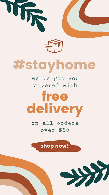 Free Delivery Offer: Earthy Tones