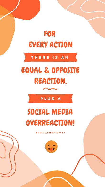 Social Media Overreaction