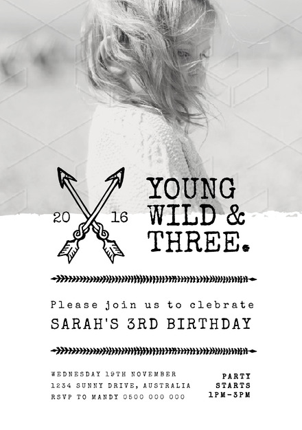 Young Wild And Three