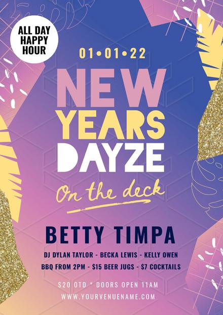 NYE New Years Dayze
