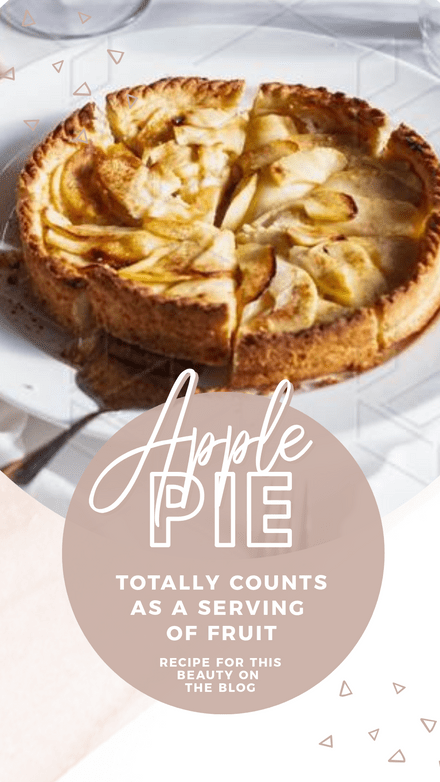 Apple Pie Day Template