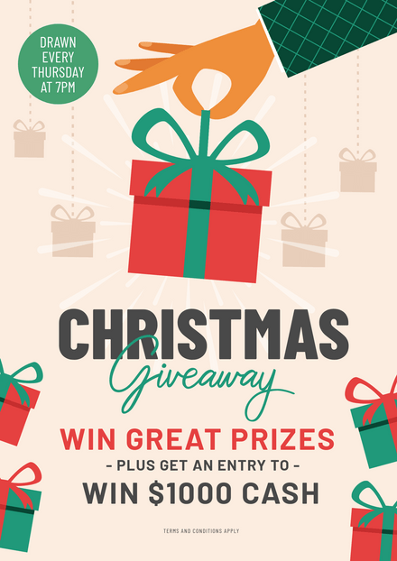 Christmas Giveaway Competition Template