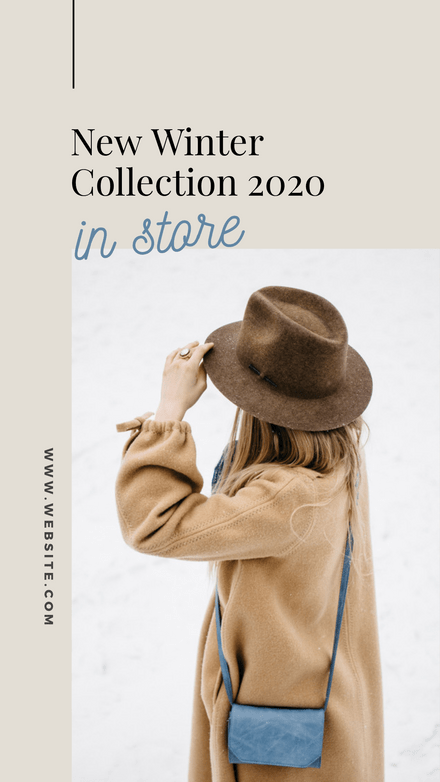Fashion Collection Launch Graphic Template