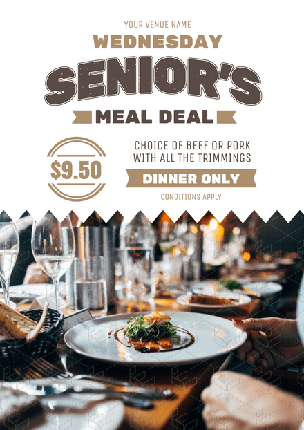 Senior's Meal Deal