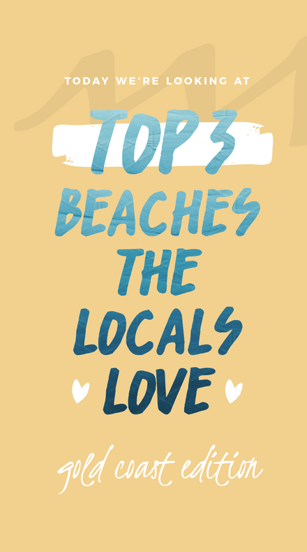 Top 3 Beaches the Locals Love