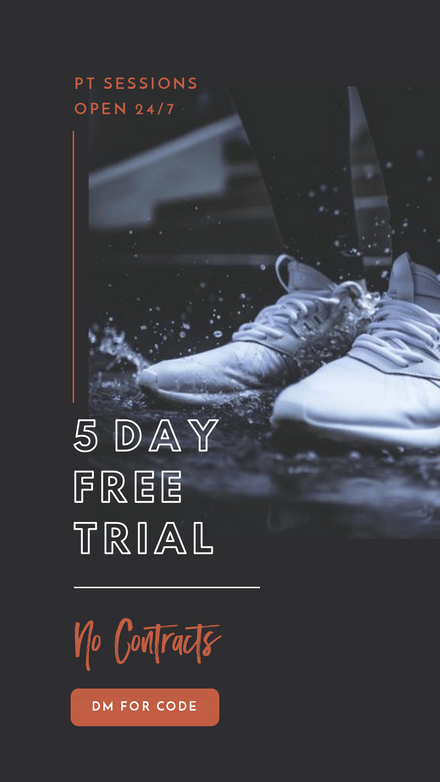 5 Day Free Trial Ad Template