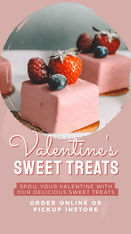 Valentine's Sweet Treats Template