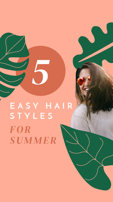 Reels Cover: Number Summer Hair Tips