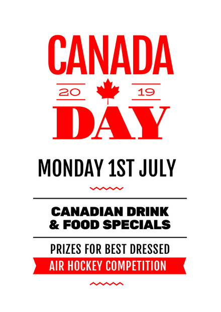 Canada Day Event Promotion Template