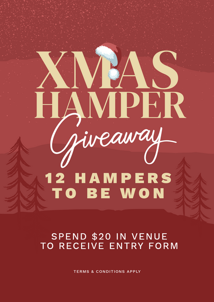 Xmas Hamper Giveaway Template