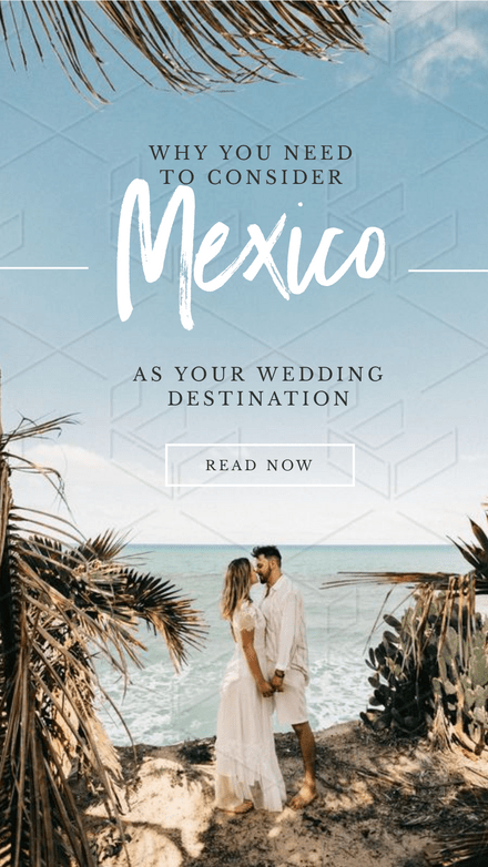 Consider Mexico - Wedding Destination Template