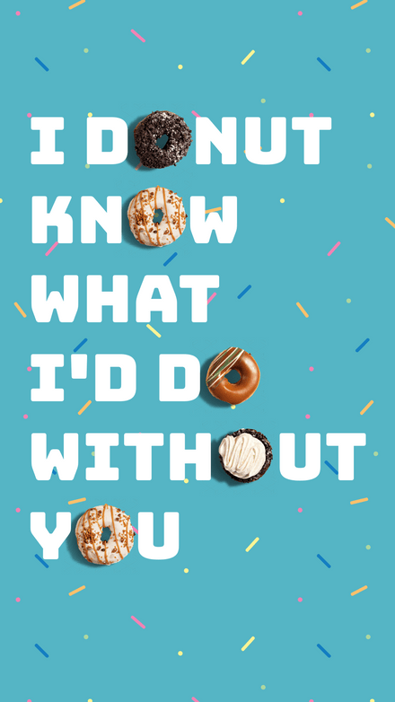 National Donut Day Graphic Template