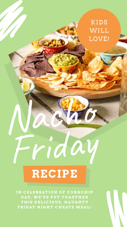 Nacho Friday Recipe Template