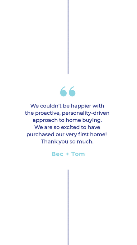 Real Estate Property Testimonial Graphic Template
