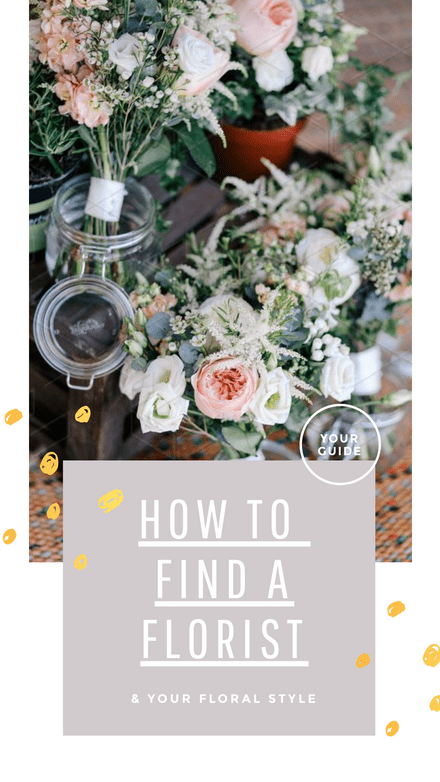 How to Find a Florist Template