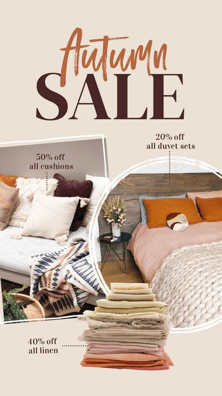 Autumn Sale - Homewares Store Graphic Template