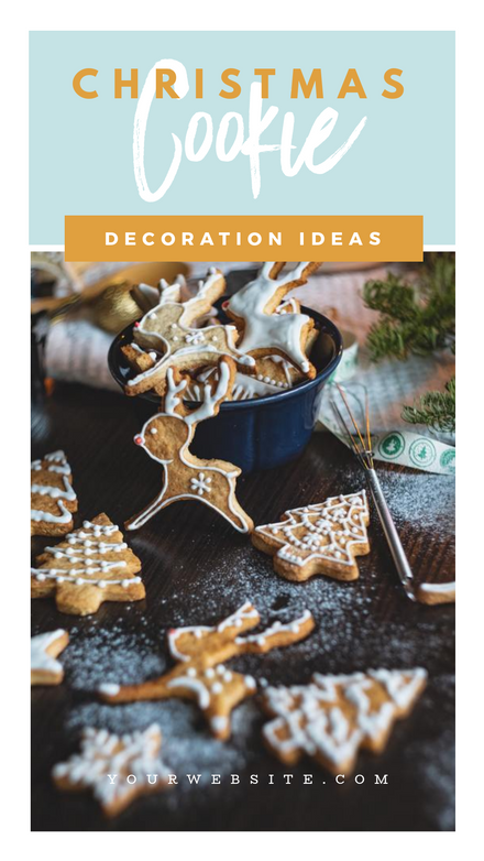 Christmas Cookie Decoration-Template