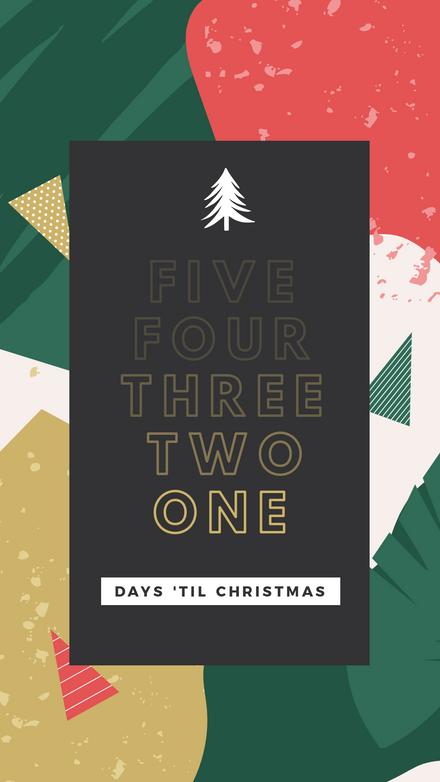Christmas Countdown Template