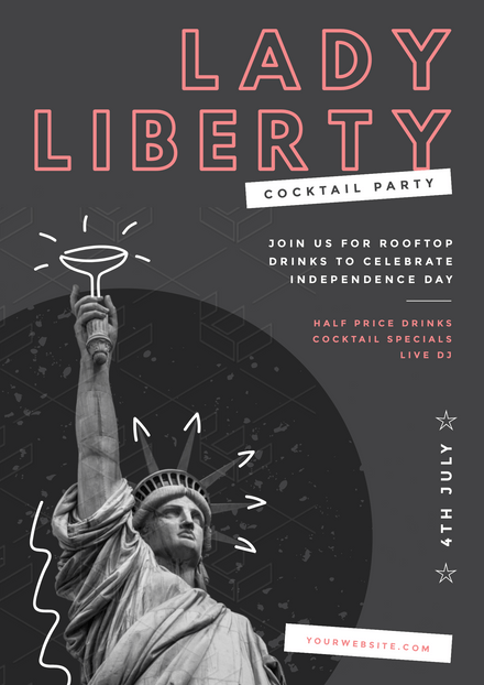 Lady Liberty Cocktail Party - 4th of July