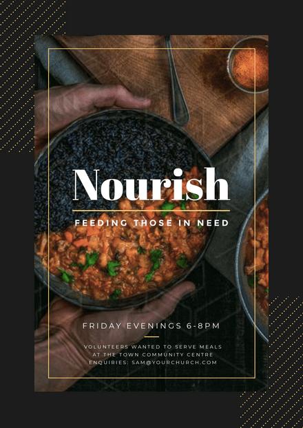 Nourish Community & Church Event Promotion