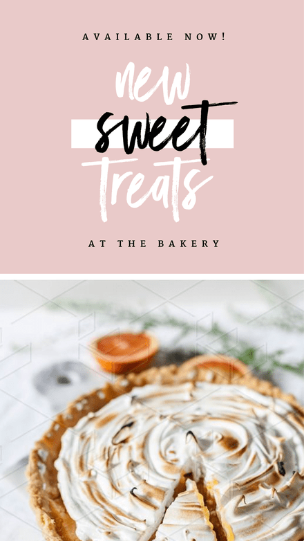 New Sweet Treats Instagram Story Template