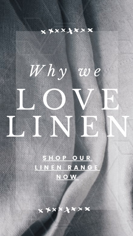 Why we Love Linen - Mono Design Template
