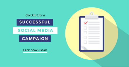 Checklist for a Successful Social Media Campaign