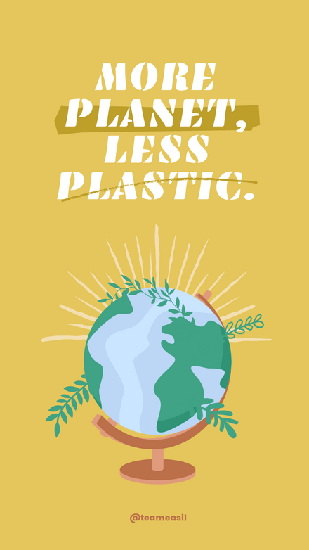 Quote: More Planet, Less Plastic