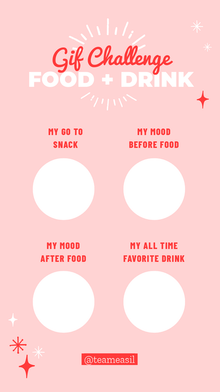 Food + Drink Gif Challenge