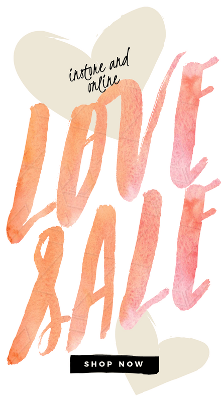 Love Sale Watercolor Design Instagram Story Template